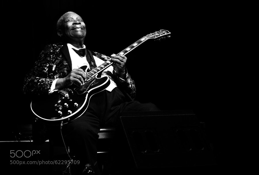 Photograph BB King by Ken Stewart on 500px