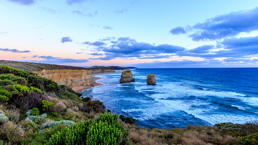 Sunset at 12 Apostles - Australia