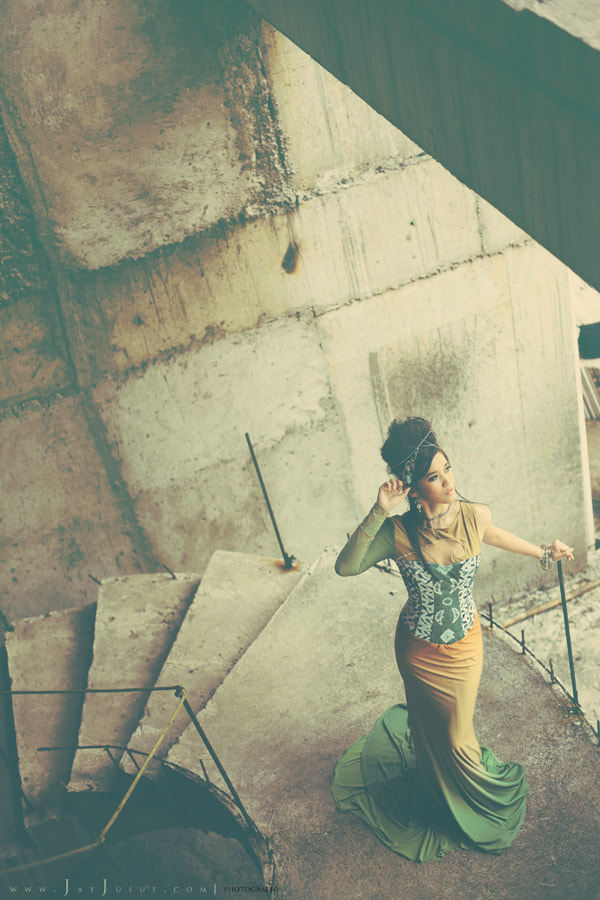 Photograph Abandoned and Couture by Jay Jusuf on 500px