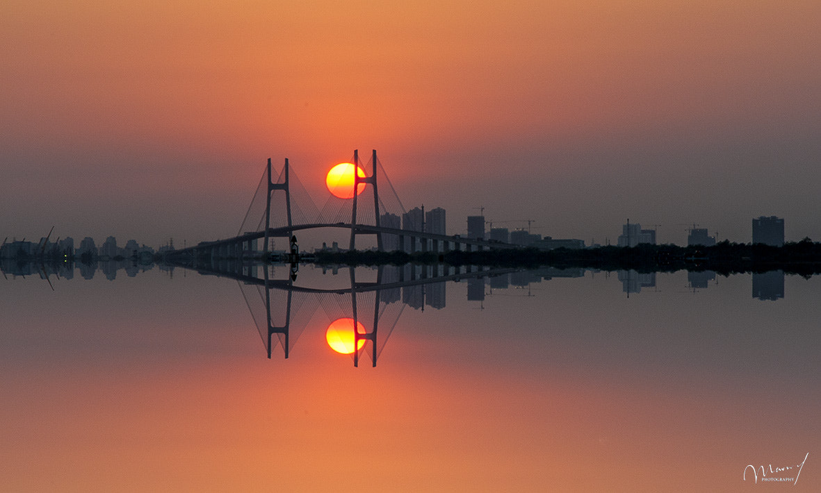 Photograph Sunset on the Bridge by Manh Ha on 500px