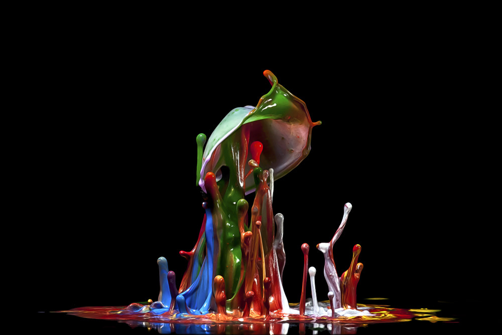 Photograph Splash into the colors by Markus Reugels on 500px