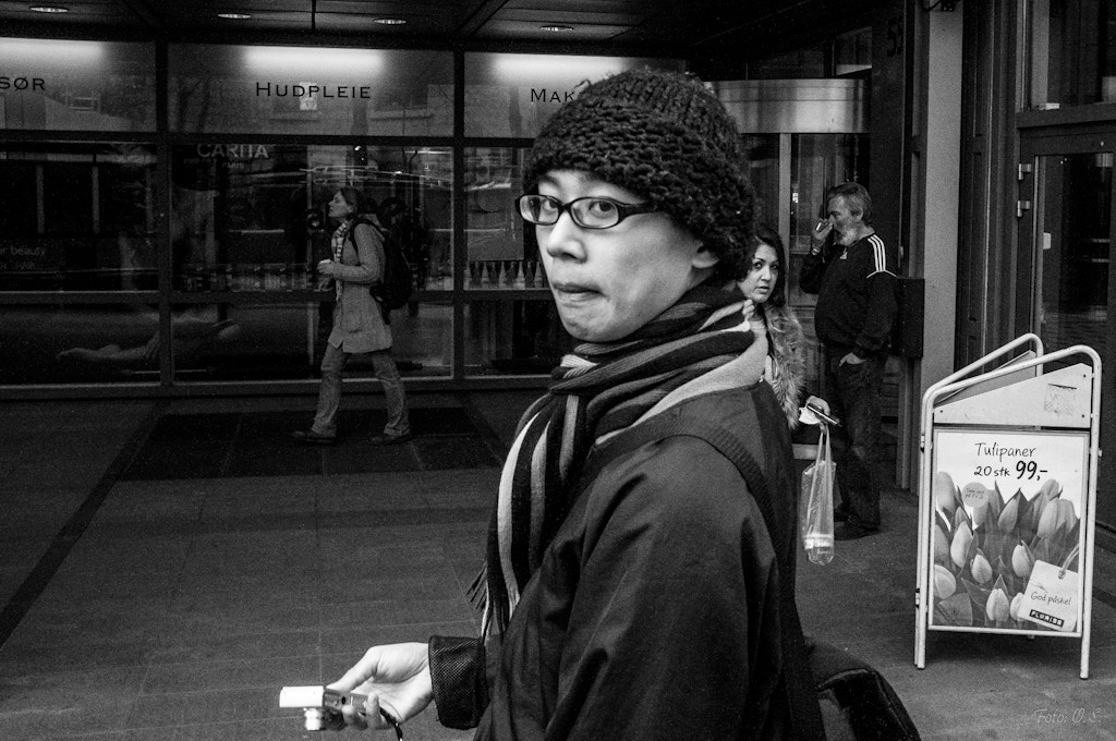Photograph Eric Kim looking guilty ;-) by Øystein Sund on 500px