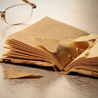 ������, ������: old notepad and glasses