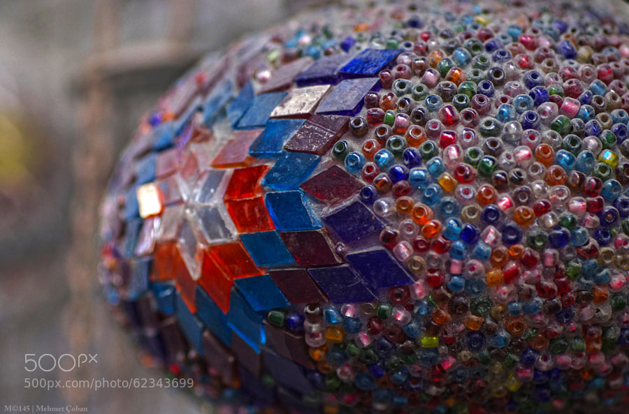 Photograph colorful beads by Mehmet Çoban on 500px