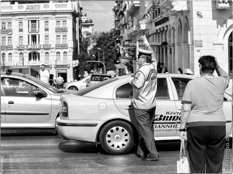 Traffic ! Athens view no. 135