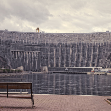 dam on the Yenisei Republic of Khakassia