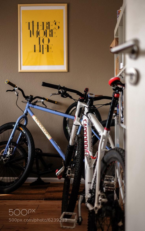 Photograph Bike Garage by David Hellmann on 500px