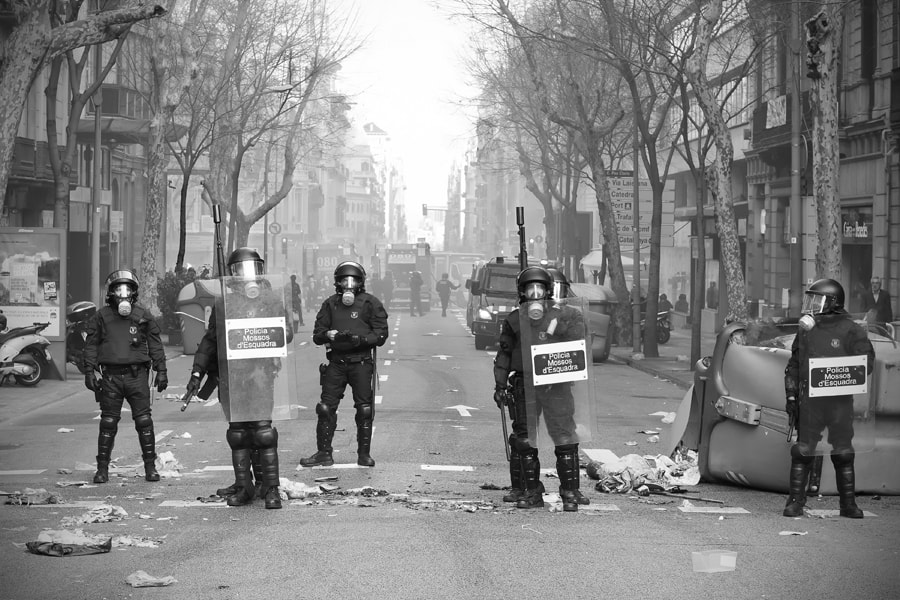 Photograph 29-M Strike Barcelona by Juan Novakosky on 500px
