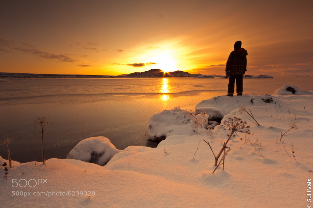 Photograph Staring at the Sun. by Gunnlaugur  Valsson on 500px