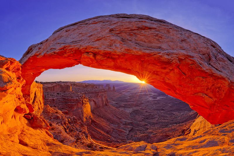 Photograph Mesa Arch Sunrise by Igor Menaker on 500px
