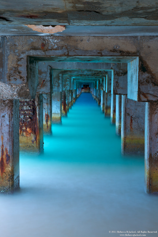 Photograph Under the Pier by Rebecca Jackrel on 500px