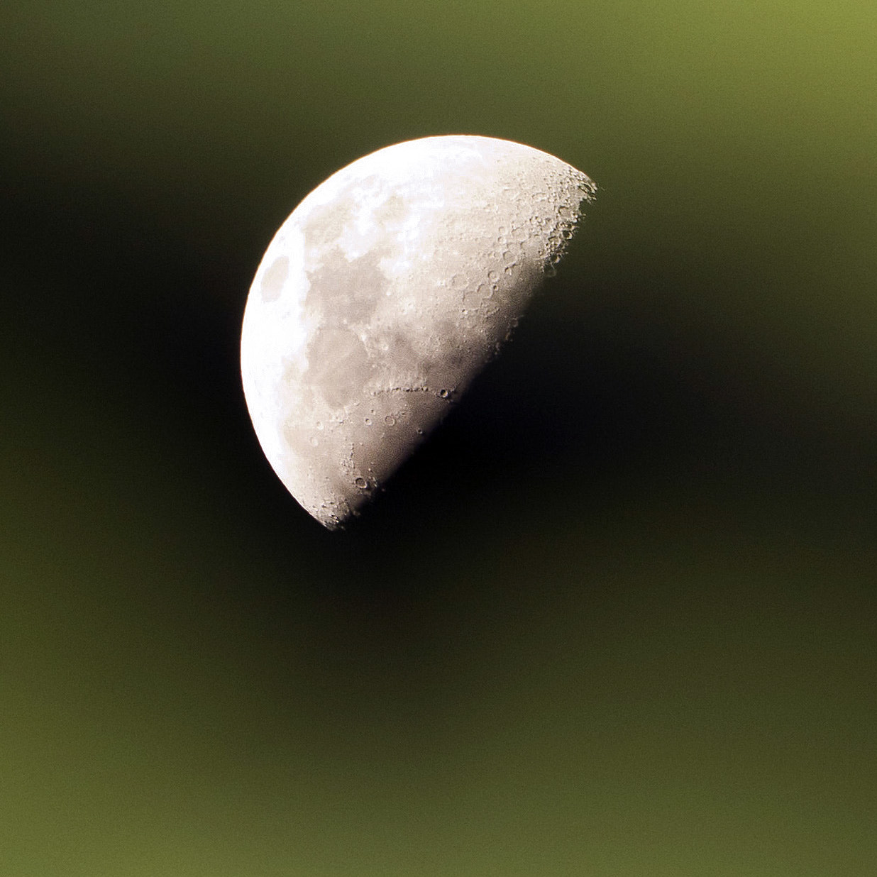 Photograph Half Moon At 300mm by Lam Cao on 500px