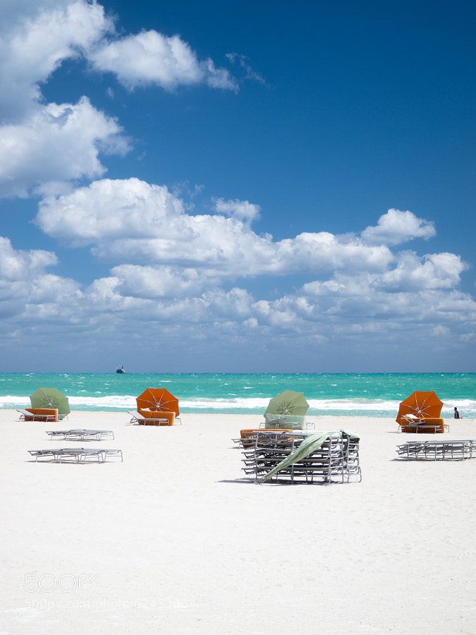 Photograph Beach Umbrellas by Alex Blanck on 500px