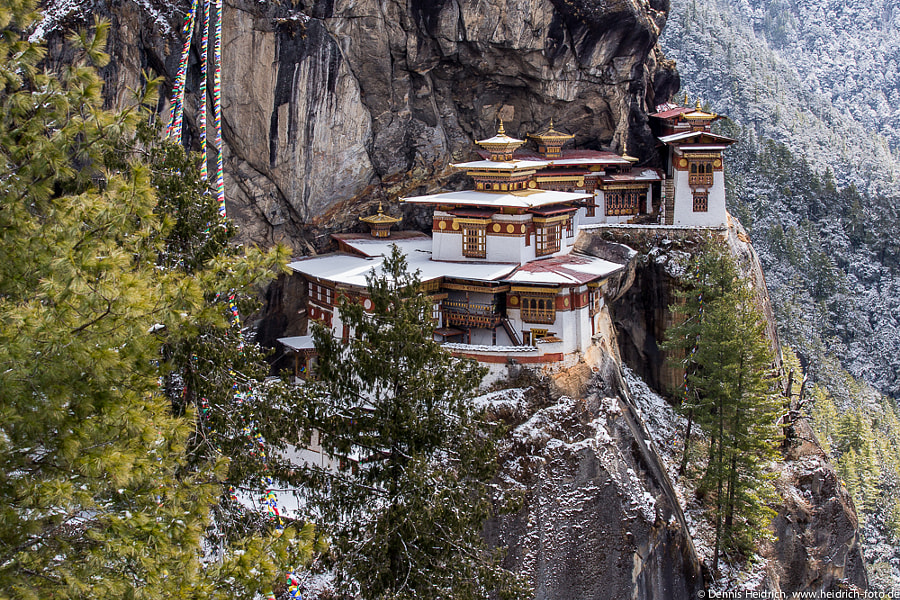 Taktsang (Tiger's Nest) by Dennis Heidrich on 500px.com