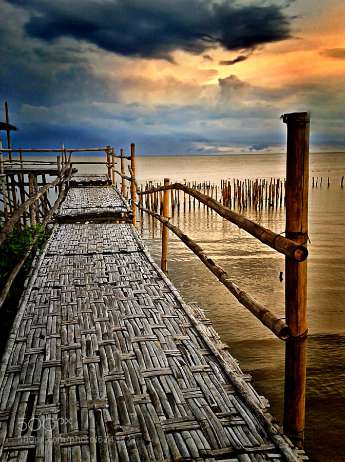 Photograph Bamboo bridge by Wawan Gilang on 500px