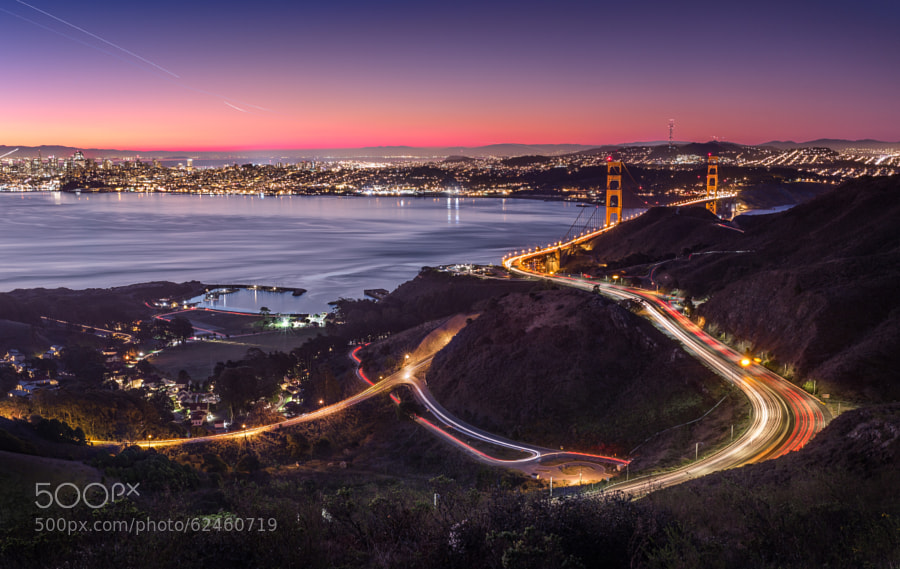 Photograph Sunrise And The City by Tristan O'Tierney on 500px