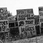 Roadside pricing for several products in Gilroy, California.