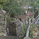 A house being rebuilt in Santa Barbara, California.