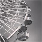 The solar powered ferris wheel at Pacific Park in Santa Monica, California. http://www.atlasobscura.com/places/pacific-park-ferris-wheel
