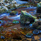Постер, плакат: colors of the stream II