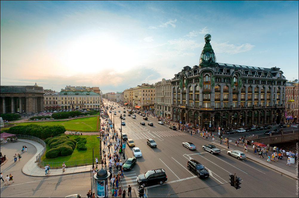 Photograph Nevsky Prospect by Dmitriy Balashov on 500px