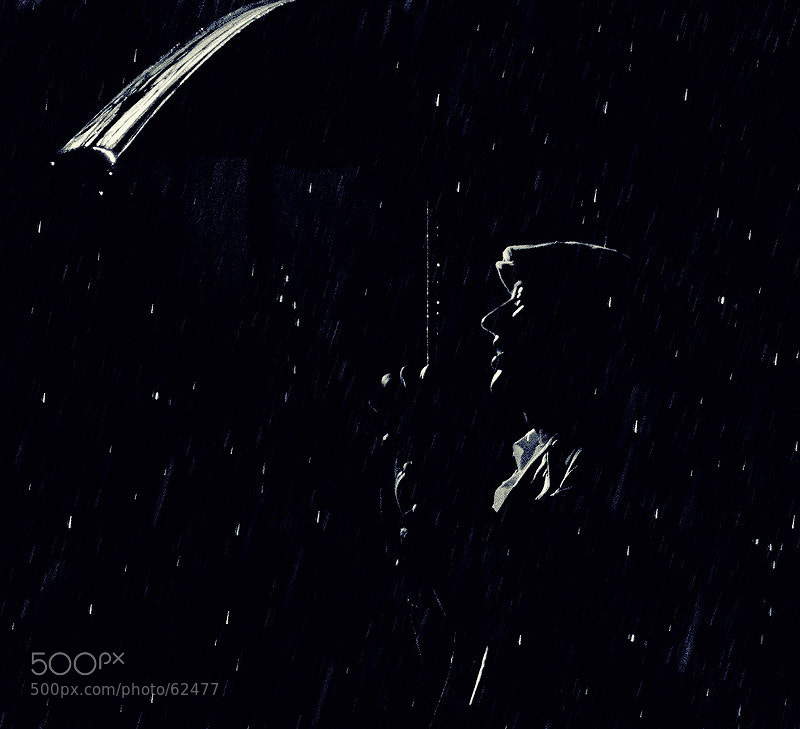 Photograph Raining man by Alexander Awerin on 500px