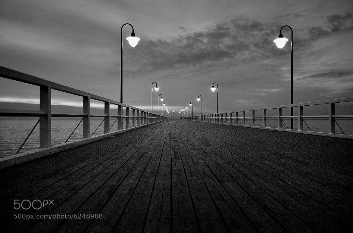 Photograph Morning on the pier in Gdynia 2 by Mirek  . on 500px