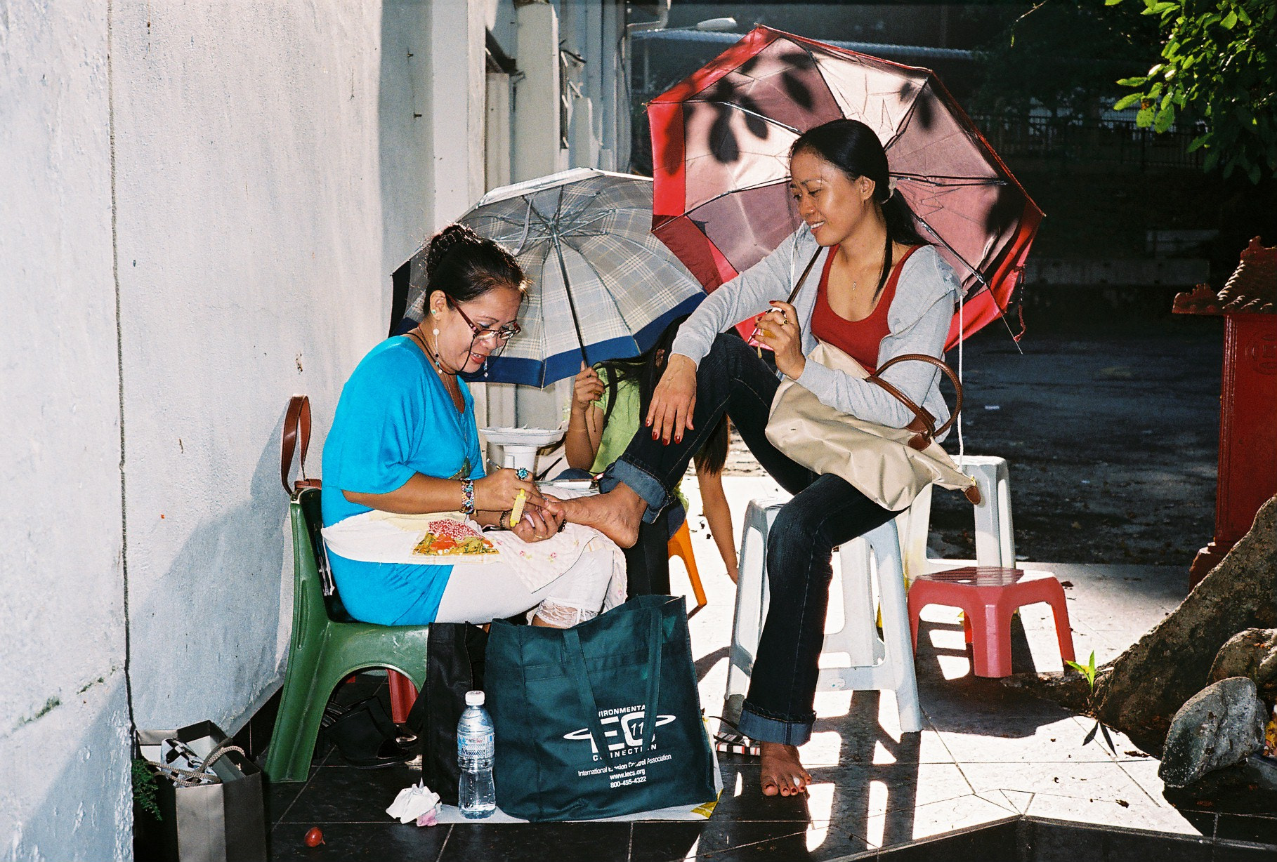 Photograph Roadside Pedicure by Yeow Chin Liang (Yeow8) on 500px