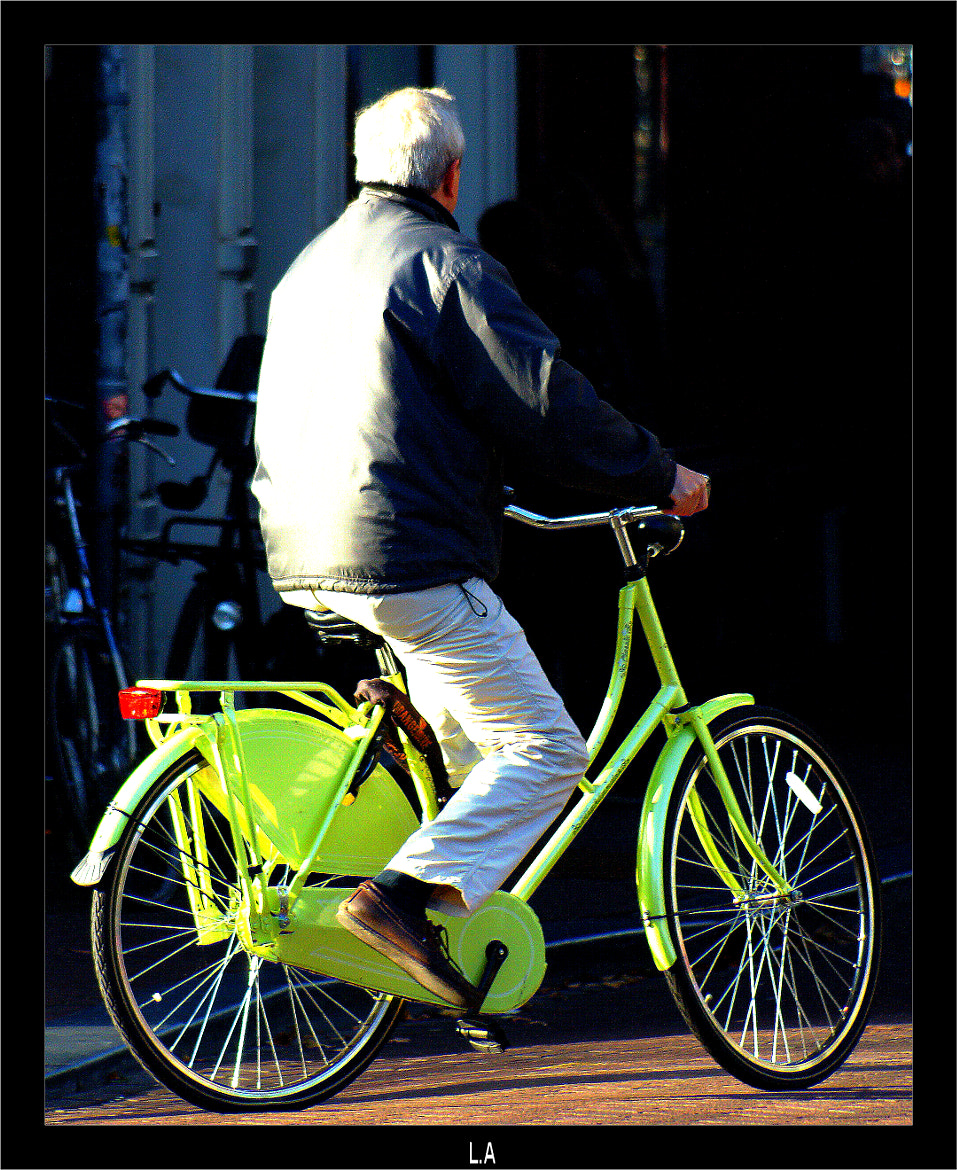 Photograph The Green Bike by Loïc Auffray on 500px