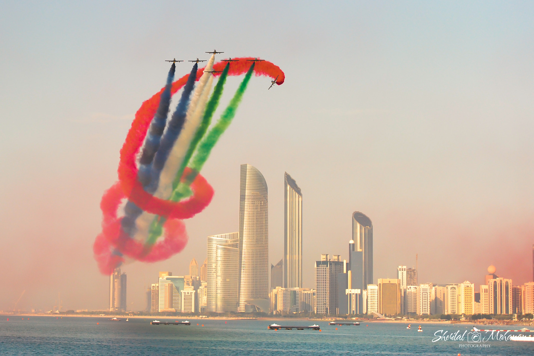 Photograph UAE Aerobatic Team - Al Fursan by Sherilal Mohanan on 500px