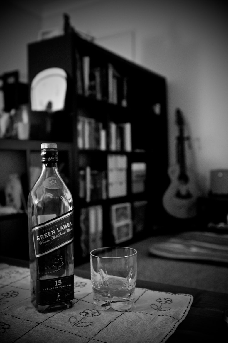 Photograph Green Label with No Green by Scott Kim on 500px