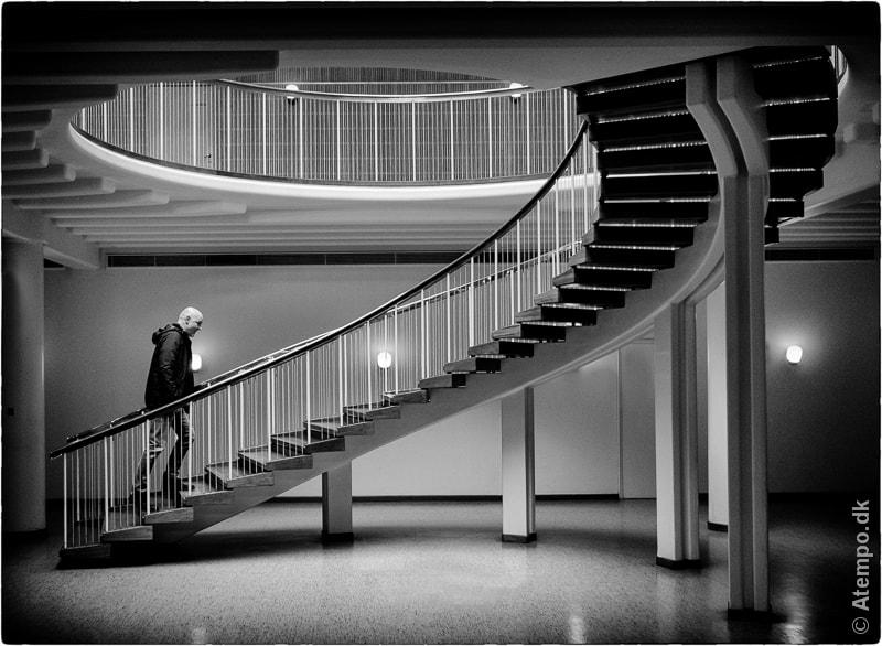 Upstairs..