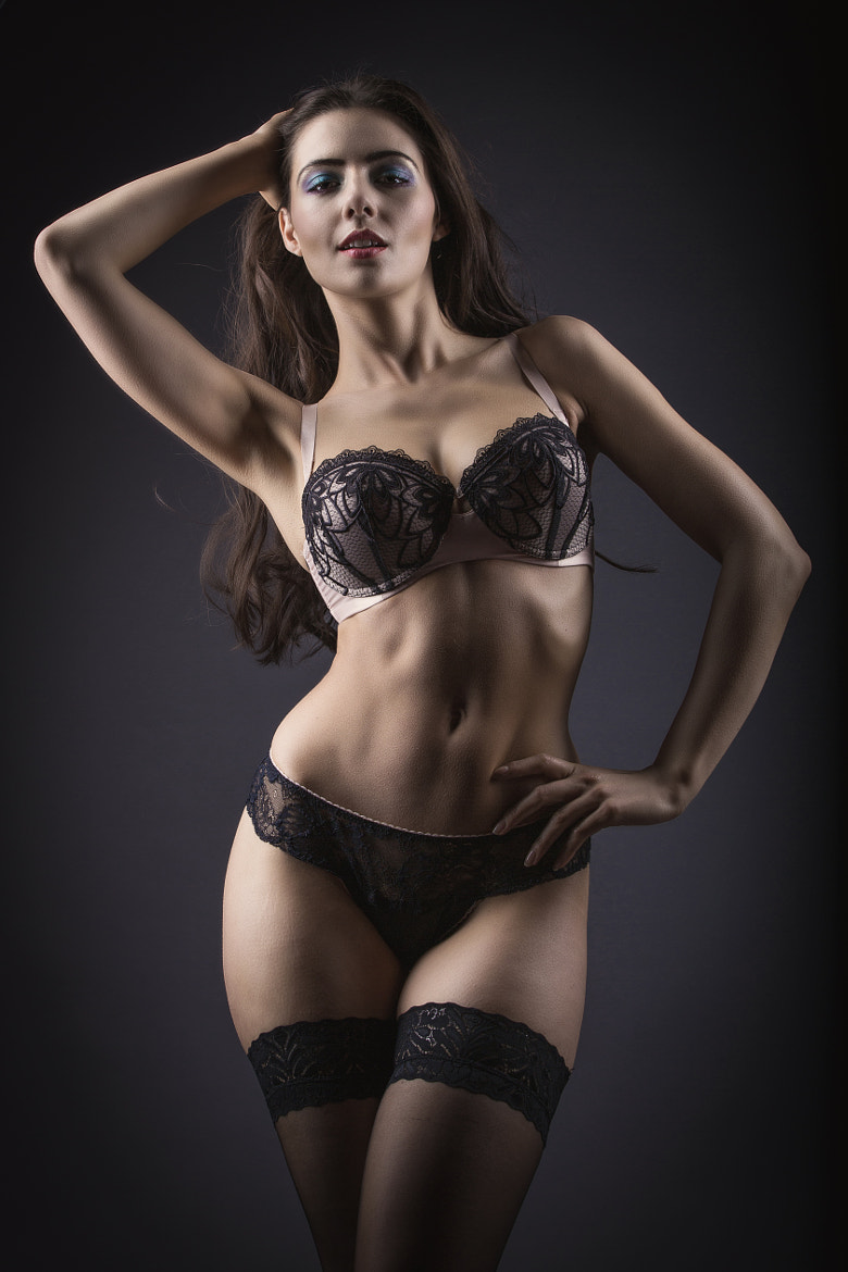 Photograph Lingerie Studio Style by Adrian Askew on 500px