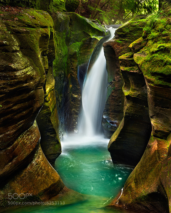 Photograph Corkscrew Falls by Steve Perry on 500px