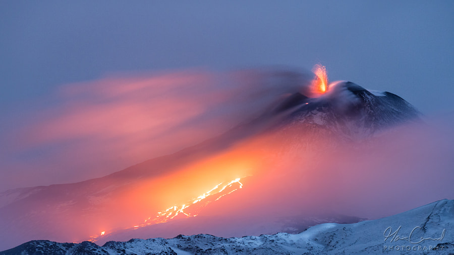 Photograph Etna - fire and ice by Max Conrad on 500px
