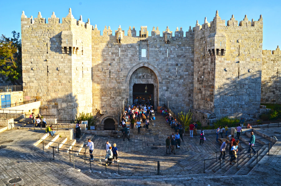 Photograph Damascus Gate by Lama Abdo on 500px