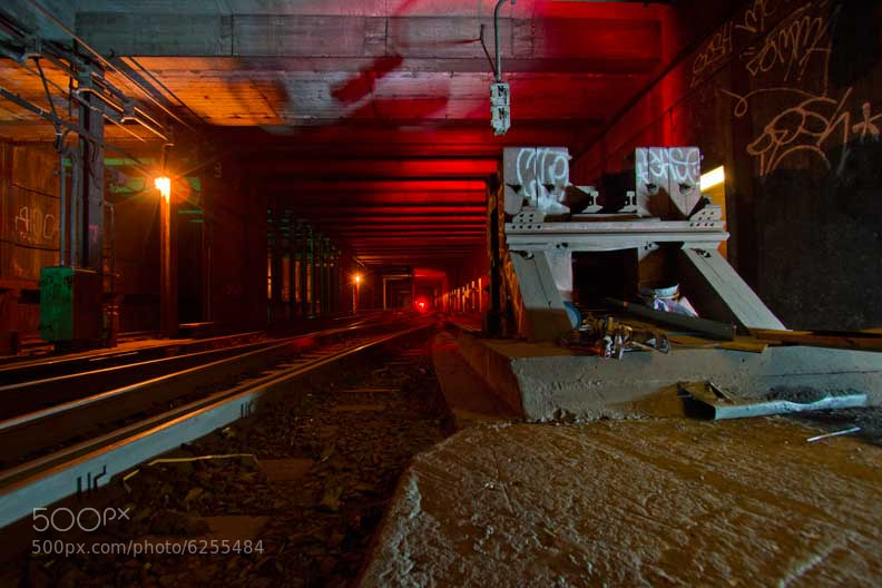 Photograph NY Underground - layup by Logan Hicks on 500px