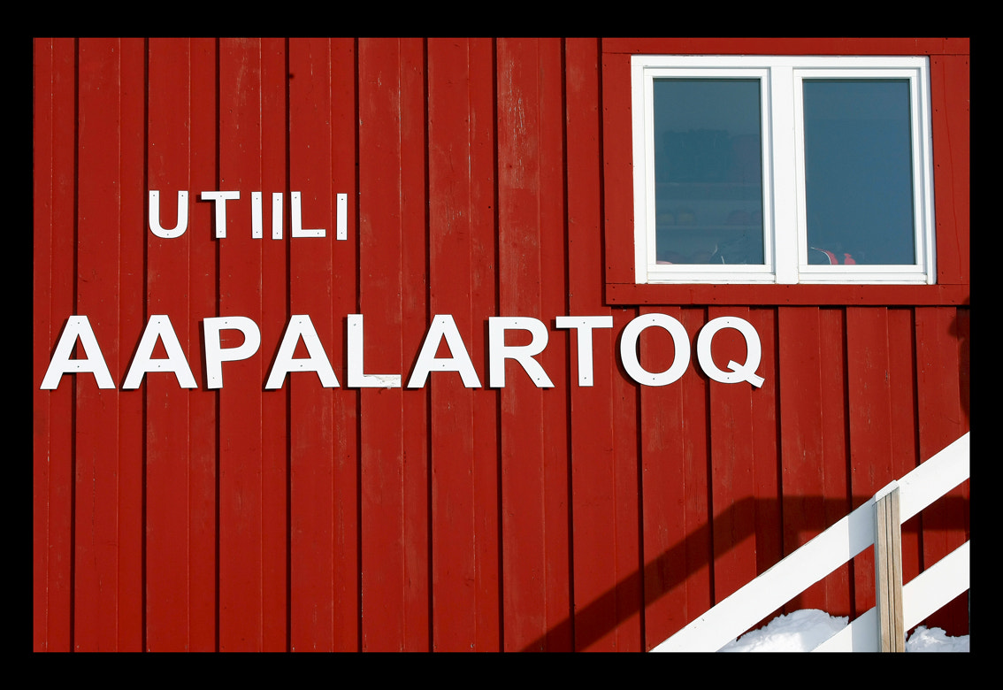 Photograph UTIILI AAPALARTOQ - THE RED HOUSE by Moreno Bartoletti on 500px