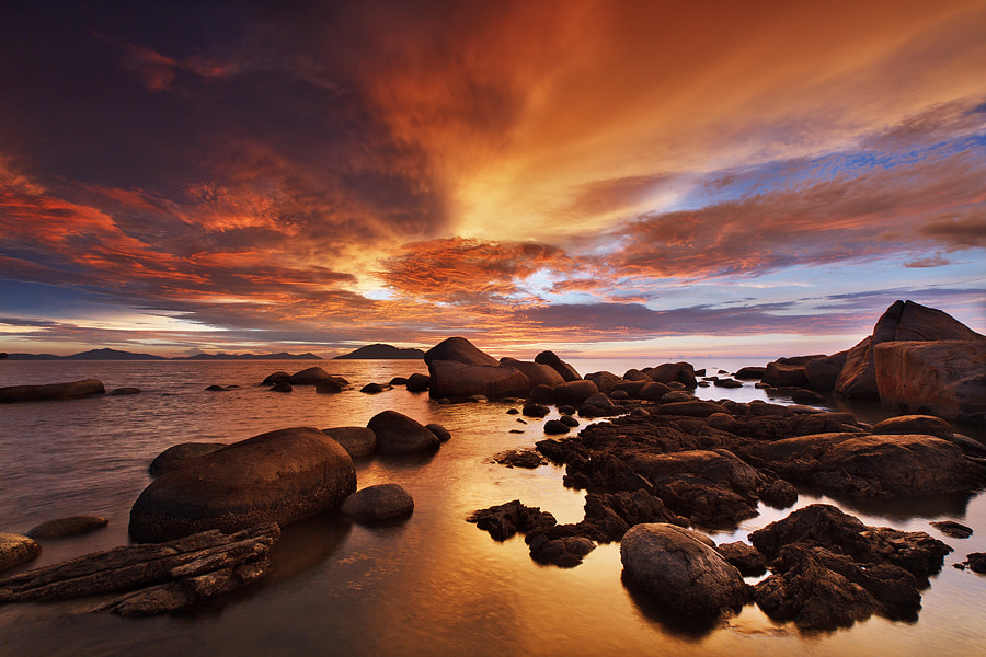Photograph Burning Sky by Bobby Bong on 500px