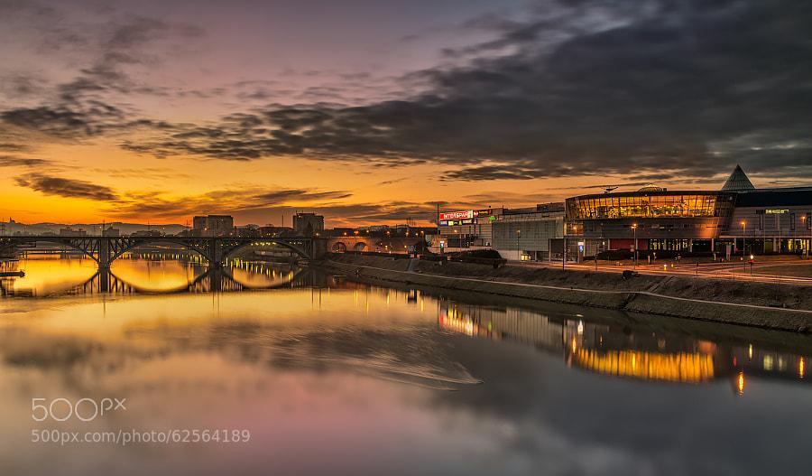Photograph Maribor sunrise by Peter Zajfrid on 500px
