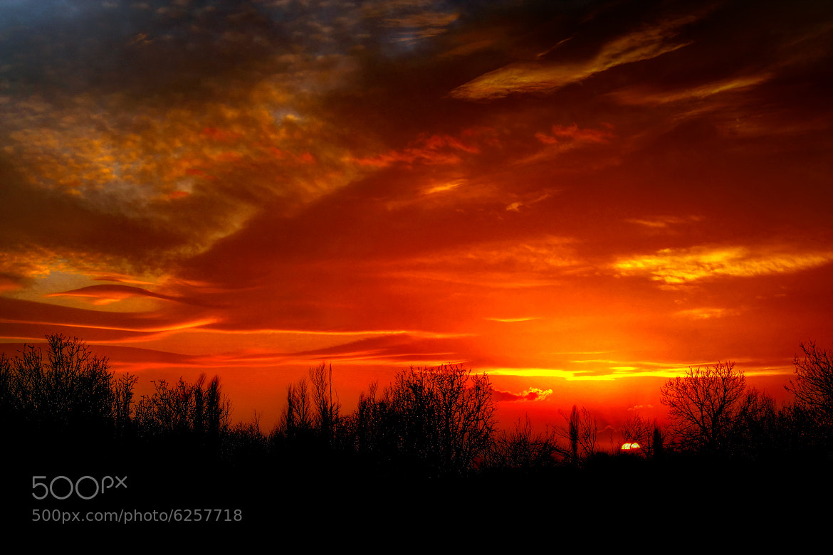 Photograph sunset Layers by yousef khoram on 500px