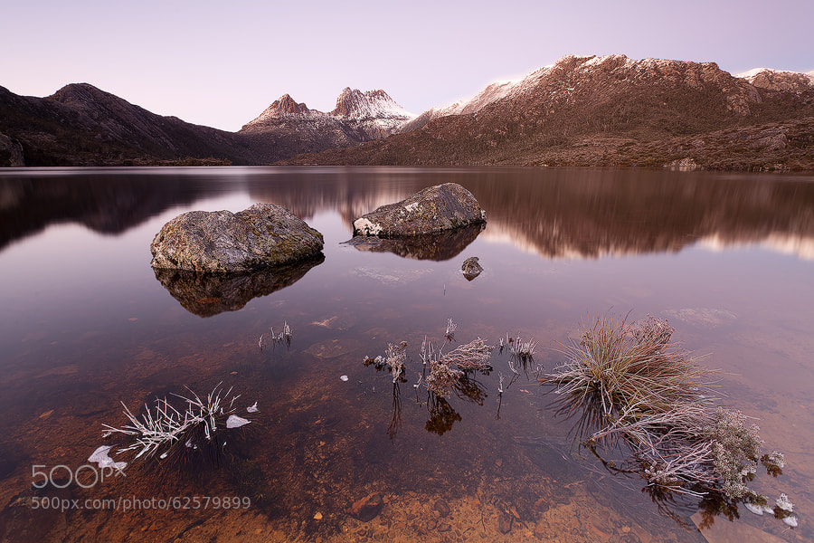 Photograph Cradle Mountain Winter Dawn by Nick Skinner on 500px