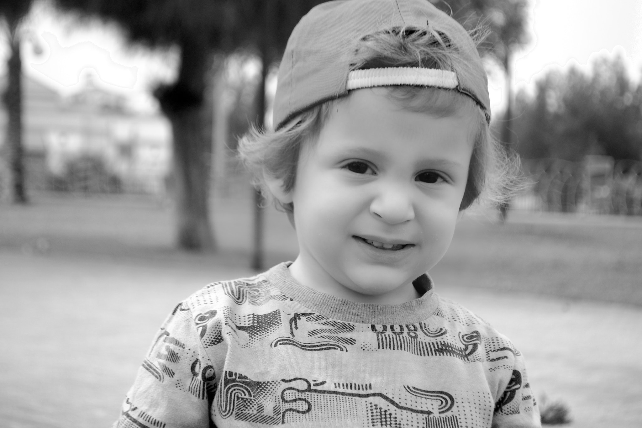 Photograph Baby Laugh in B&W by jamil ghanayem on 500px