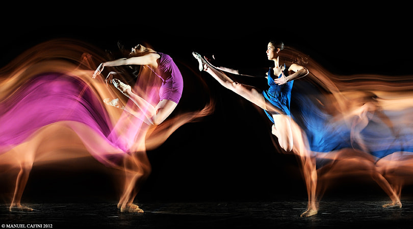 Photograph TWIN DANCERS by Manuel  Cafini on 500px