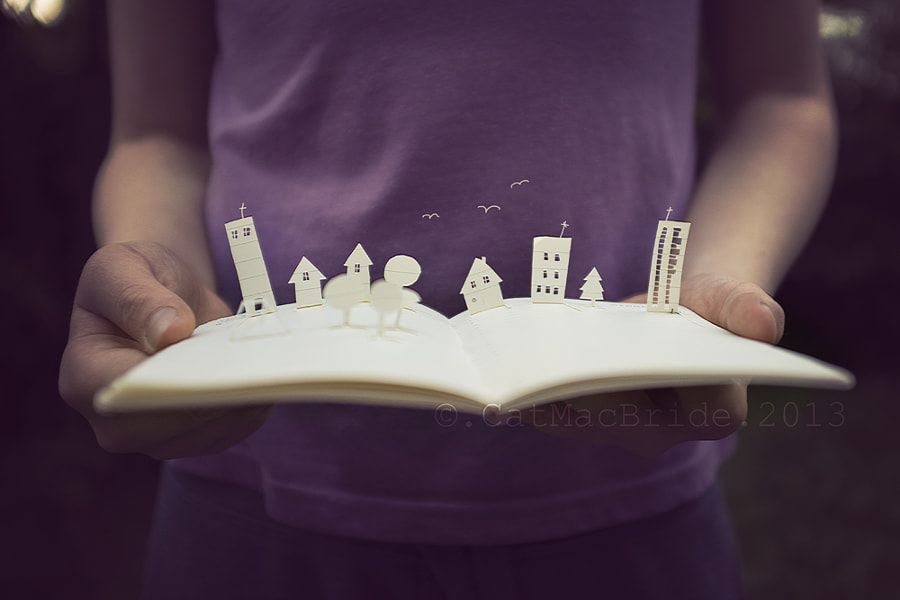 lost in a book... by Catherine MacBride on 500px.com