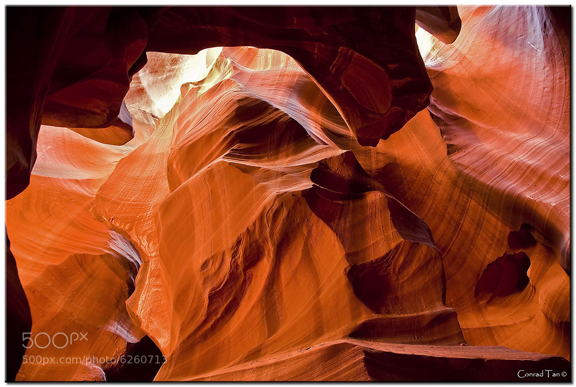 Photograph Antelope Canyon Abstract by Conrad Tan on 500px