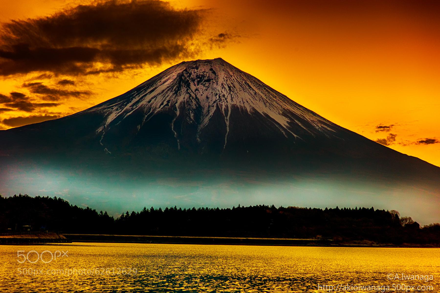 岩永明男氏による富士山の写真