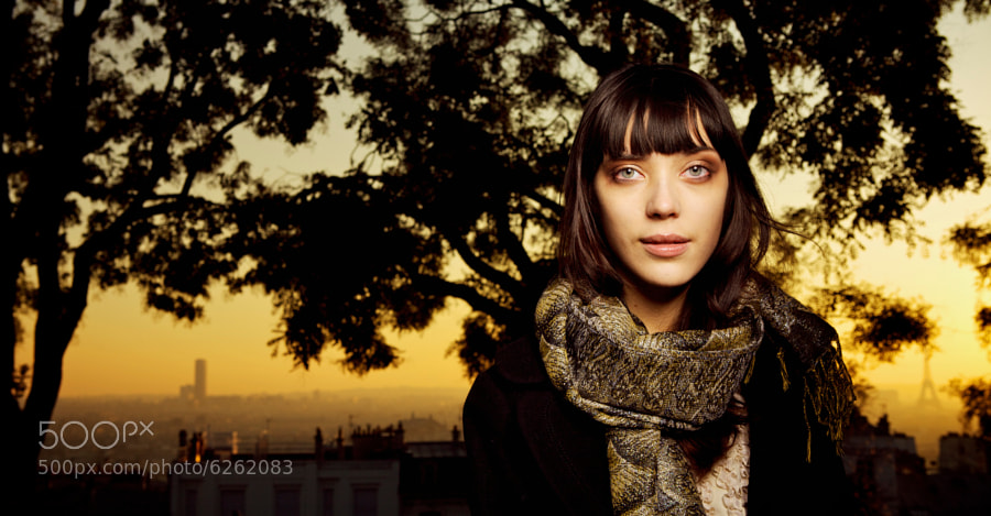 Sophie in Paris  by Philipp Göllner (philippgoellner) on 500px.com