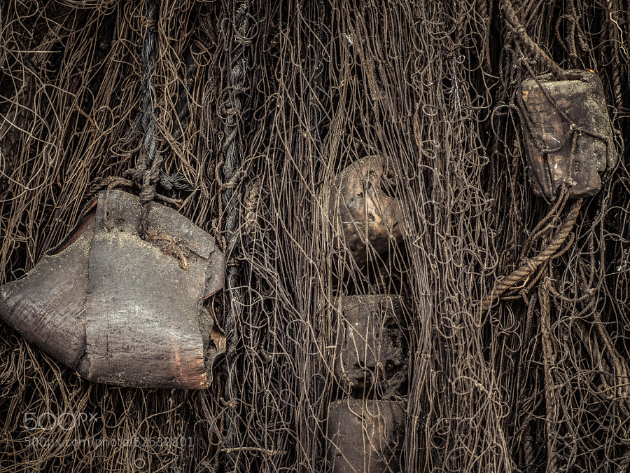 Photograph Old Fishing Net by Jarno Heikkinen on 500px