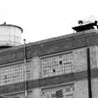 This is an old factory building in Downtown, Los Angeles.
